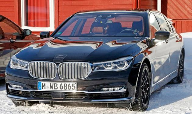 2018 BMW M7 Prototype Review