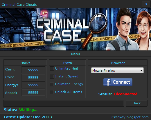Criminal Case Hack Tool - Free Download  2016
