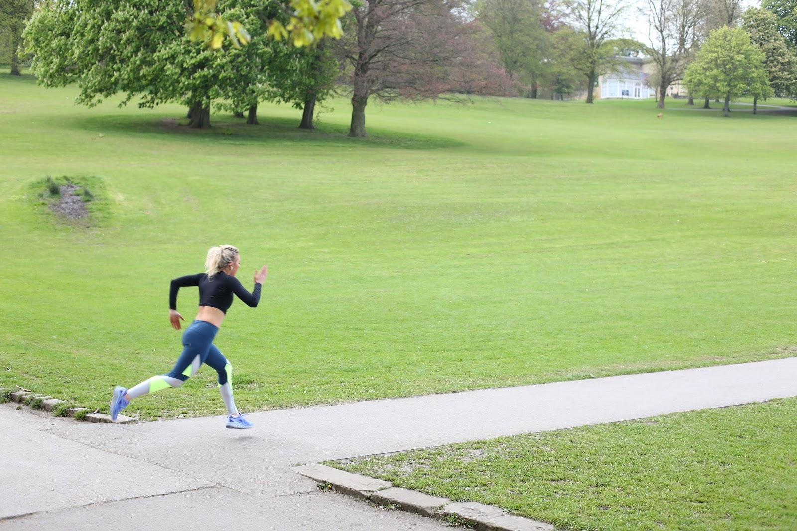 running at roundhay park