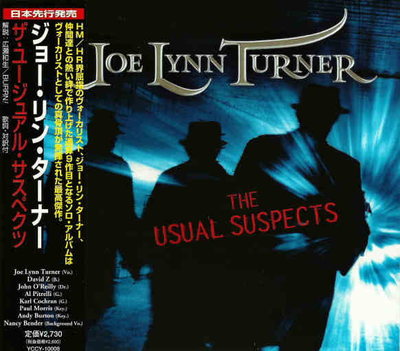 JOE LYNN TURNER - The Usual Suspects [Japan Edition +2 bonus]  full