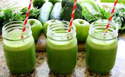 apple and cucumber detox juice