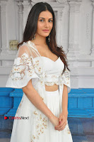 Telugu Actress Amyra Dastur Stills in White Skirt and Blouse at Anandi Indira Production LLP Production no 1 Opening  0116.JPG