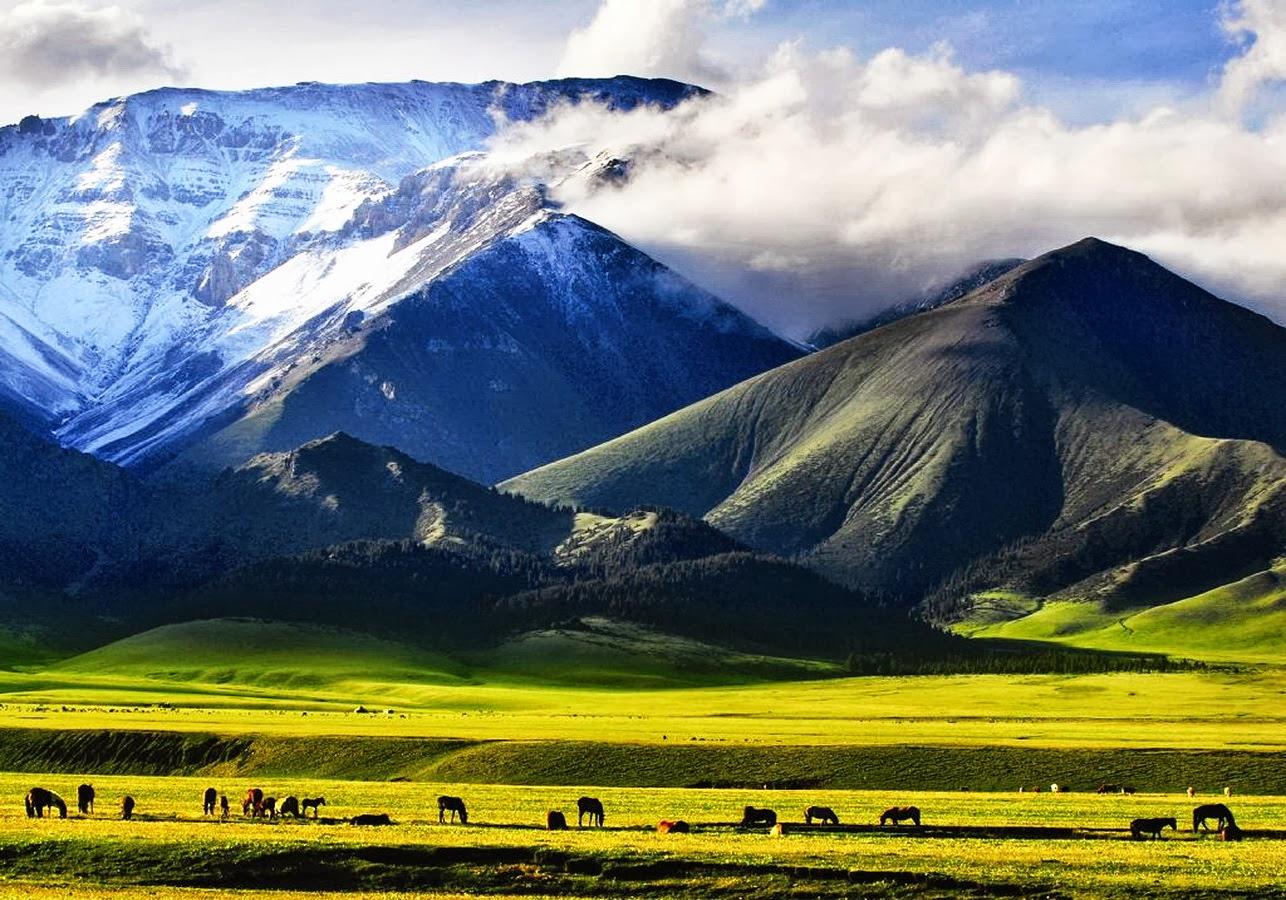 Potentes Montañas Nevadas Fondos De Pantalla: Imagenes Hilandy: Fondo De Pantalla Naturaleza Montañas