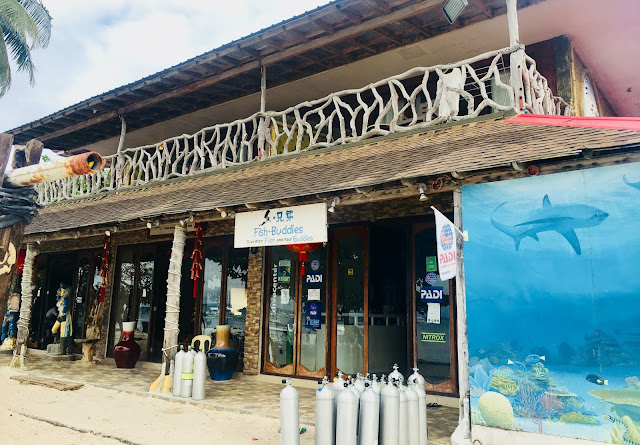 Fish Buddies Dive Shop Malapascua Island Cebu