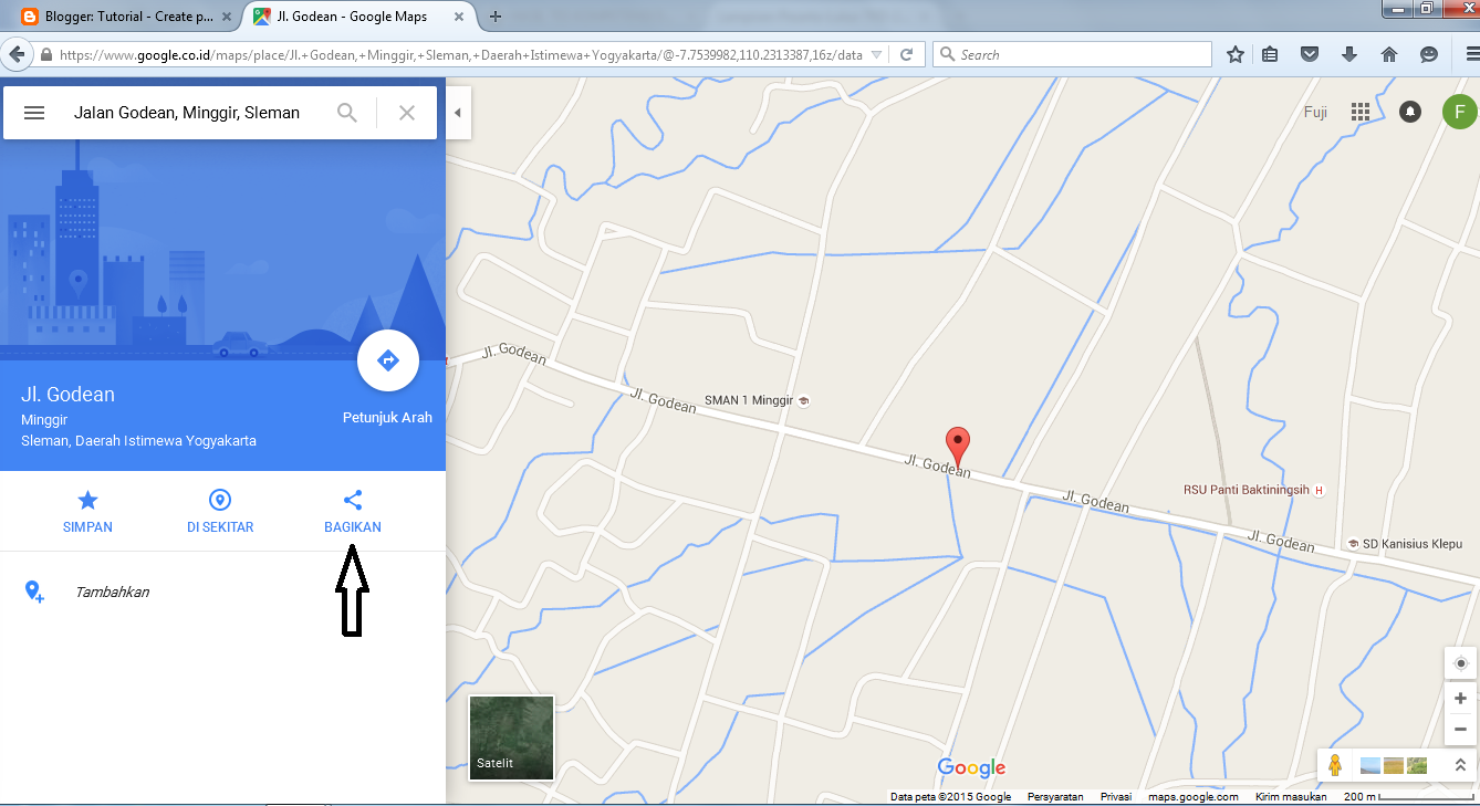 Tutorial How To Insert Google Maps In Your Web Or Blog