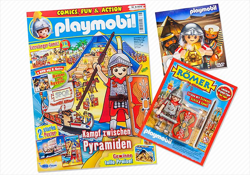 marçal portades revista playmobil magazin