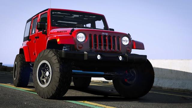 Mod Mobil Jeep Rubicon GTA 5