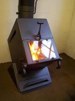 estufa de hierro para interior