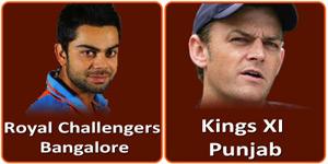 आइपीएल 6 का तिरसठवां मैच M.Chinnaswamy Stadium, Bangalore में होने जा रहा है।