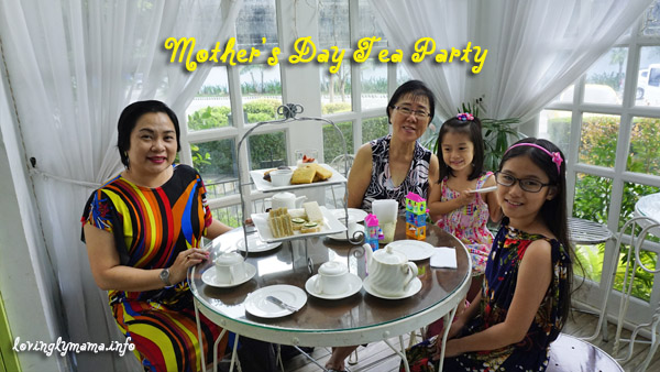 mothers day - tea party for mom - tiffany's confections - with grandma - - Bacolod Mommy blogger