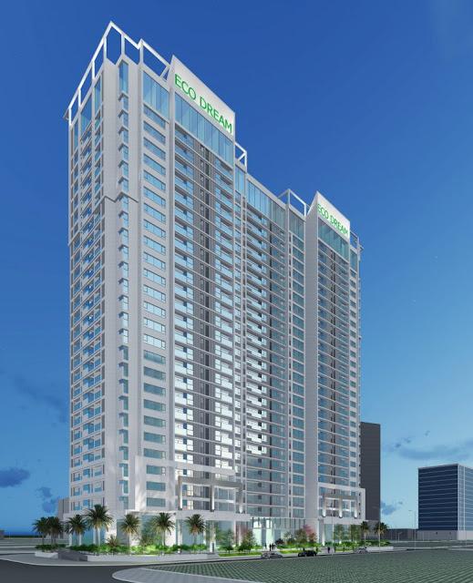 Phối cảnh của dự án chung cư Eco Dream City.