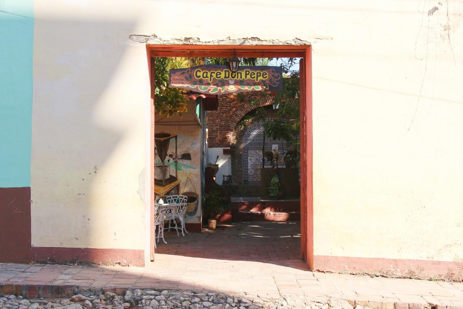 Cafe Don Pepe, Trinidad - Cuba