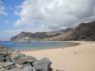 Tenerife 2015 playa de las teresitas