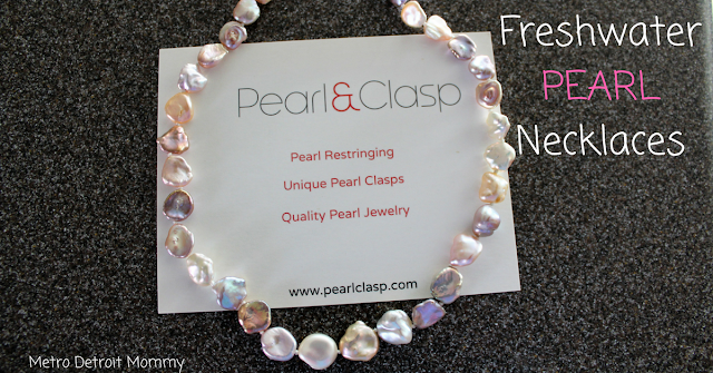 Pearl & Clasp, Freshwater Pearl Necklaces
