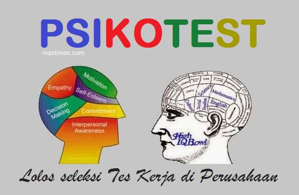 Contoh Soal PSIKOTEST pdf terbaru 2018 dan Kunci Jawaban