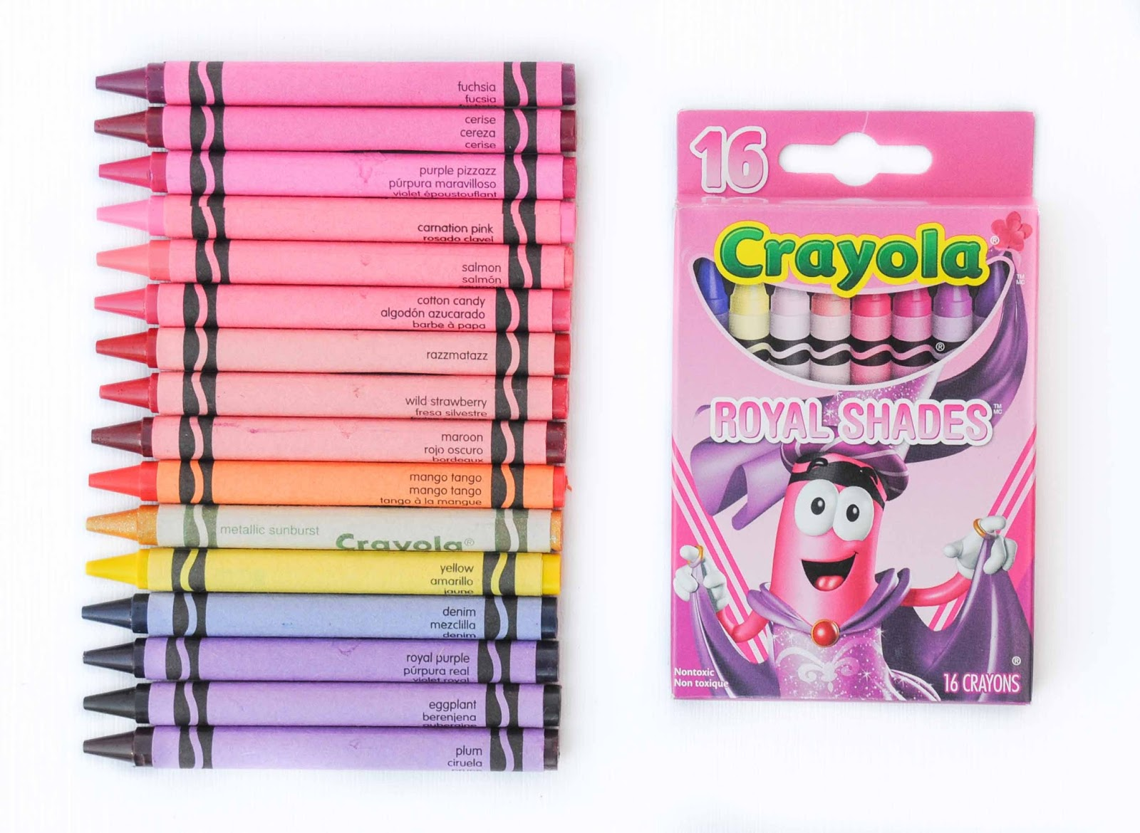 2014 Tip Collection Crayola Crayons Back Of The Box