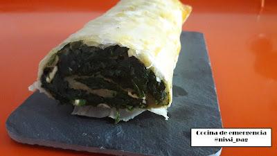 Receta de Borek de espinacas y queso feta