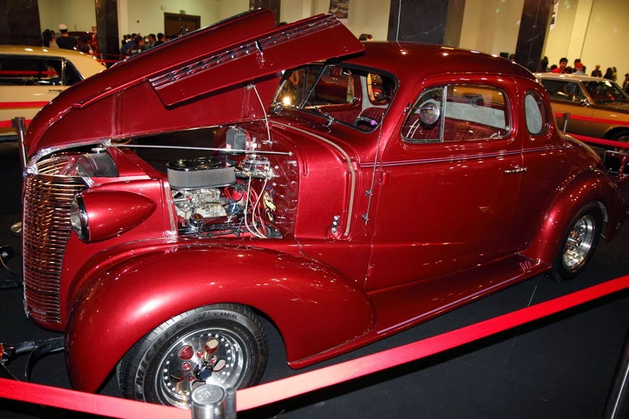 Hot trod Chevy Master Deluxe 1938