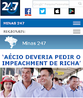 site da BLOSTA petista pede impeachment de governador do PSDB