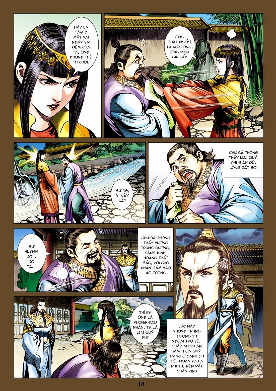 Anh Hùng Xạ Điêu anh hùng xạ đêu chap 77: thế thượng tối cường võ công trang 18