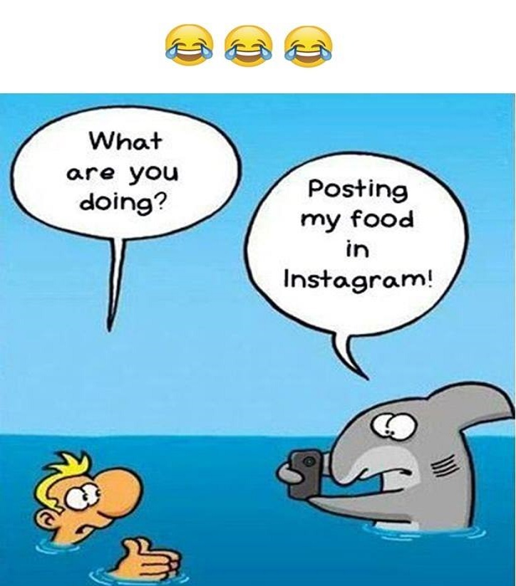 Post Your Food On Instagram   Funny Images
