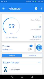 Hibernator – Hibernate Apps & Save Battery v2.8.7 [Pro + Mod] APK