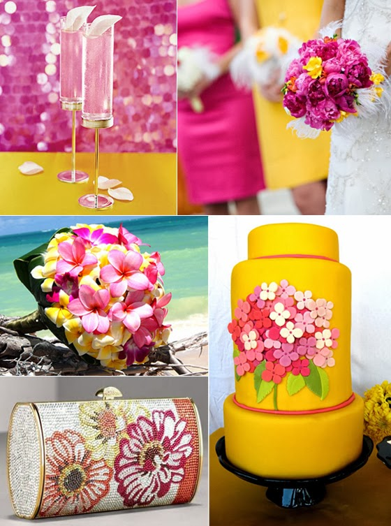 Ideal Summer Wedding Colors and Combinations