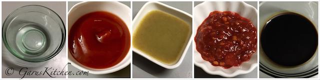 Vinegar | Tomato Sauce | Green Chilli Sauce | Chilli Garlic Sauce | Soya Sauce