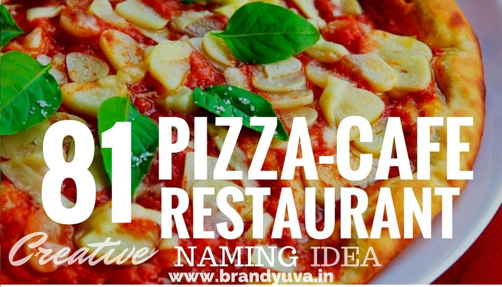 81 catchy pizza shop names idea