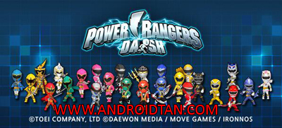 Download Power Rangers Dash Mod Apk v1.6.3 (Unlimited Money) Terbaru 2017
