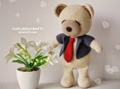 http://fukuroucrafts.blogspot.com/2015/03/cute-crochet-pattern-bear-doll-cute.html