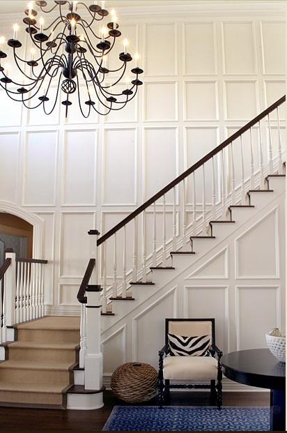 Wood Wall Paneling: Modern: Painted Wall Paneling