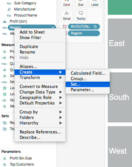 How To: Sheet Selector Using Set Actions in Tableau | Sir