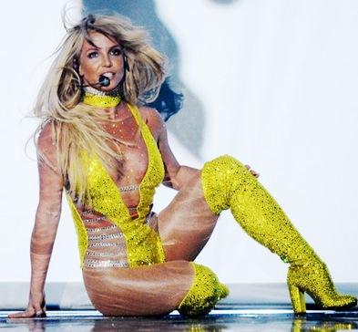 Foto de Britney Spears en el escenario