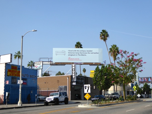 Moveloot The Matrix billboard