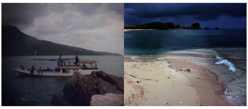 Pulau Karang Gosong Bonang - Kecamatan Lasem - Rembang