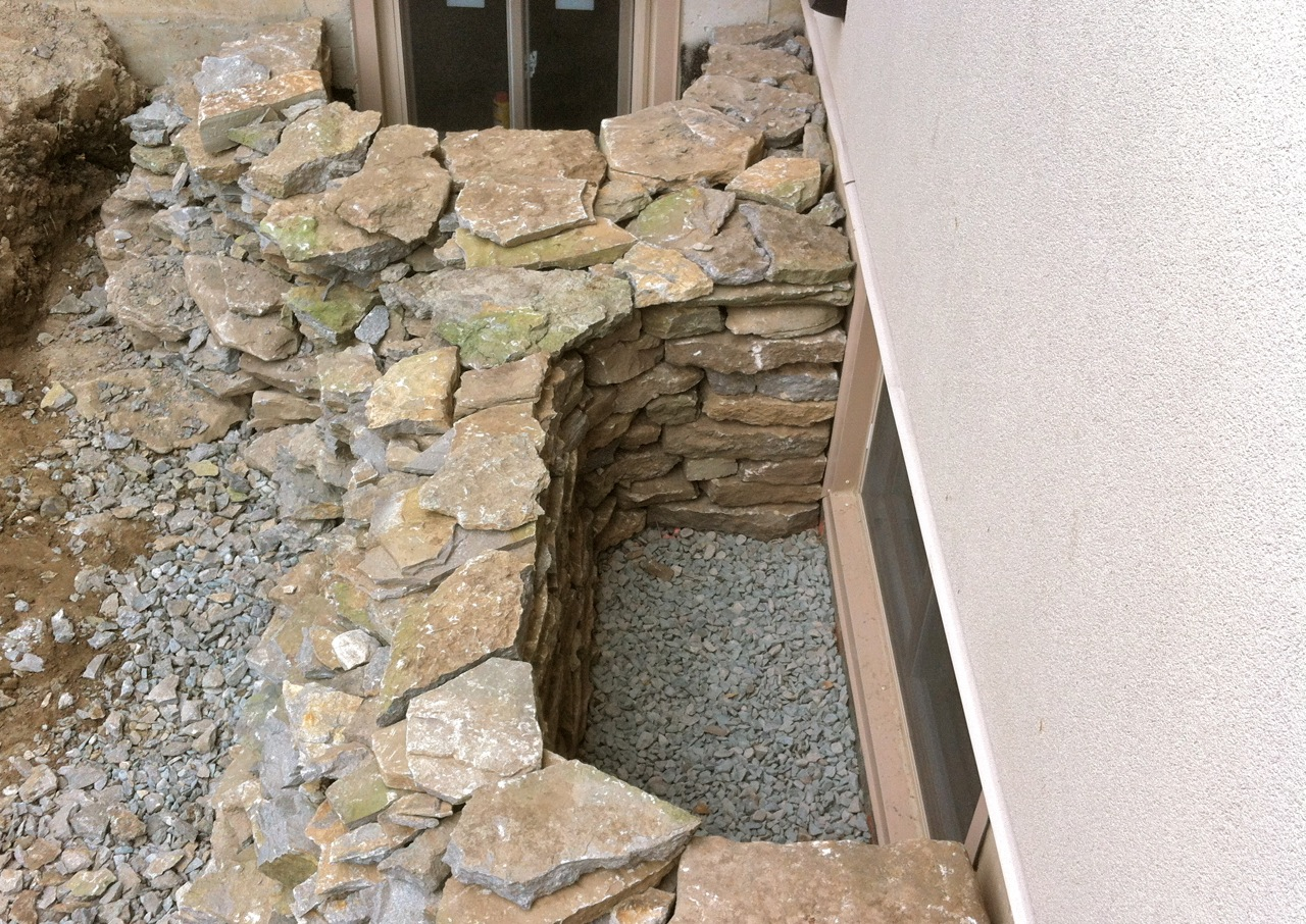 brick basement window wells. Delighful Basement Allu0027s Well If Itu0027s A Dry Stone Window Well On Brick Basement Window Wells I