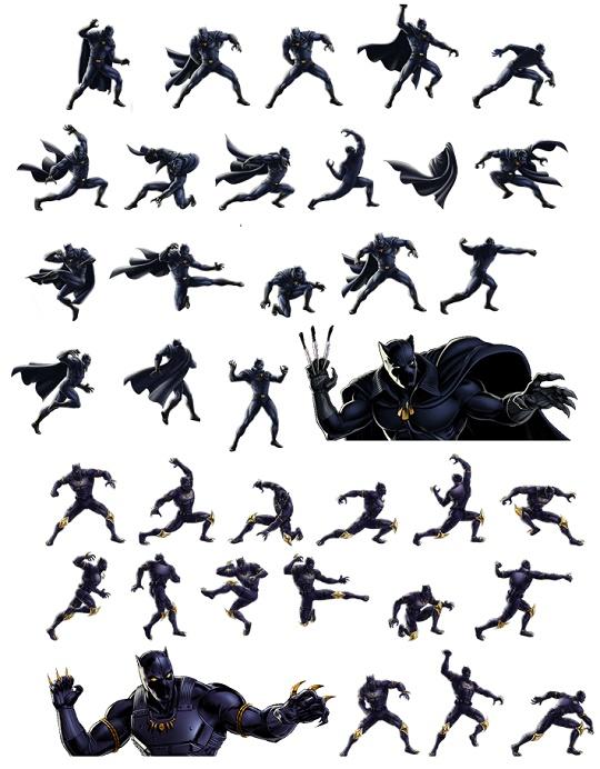 maratona 616 pantera negra nos games universo marvel 616