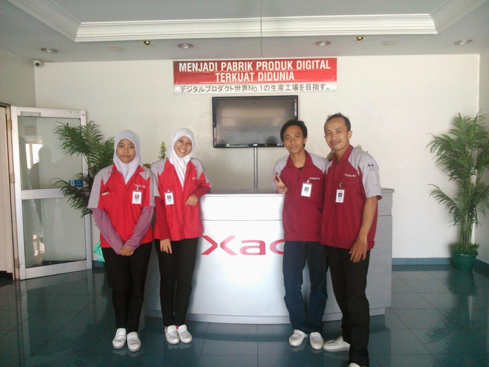 Loker Operator Produksi PT Xacti Indonesia Bogor Depok Lulusan Terbaru 2017