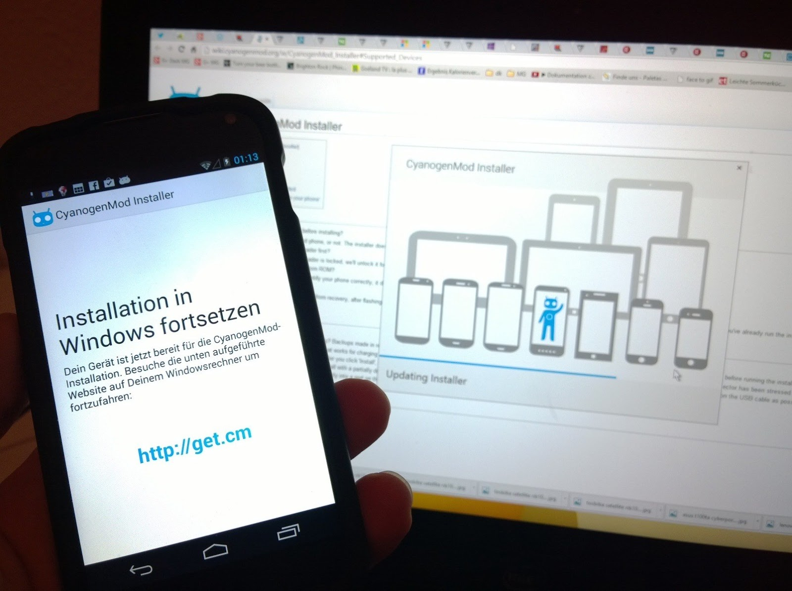 CyanogenMod Installer application pulled from Google Play Store