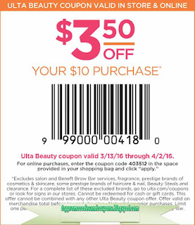 Free Promo Codes and Coupons 2017: Ulta Coupons