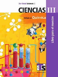 Ciencias III Énfasis en QuímicaLibro para el MaestroVolumen II–Tercer gradoLibro de texto de Telesecundaria2017-2018