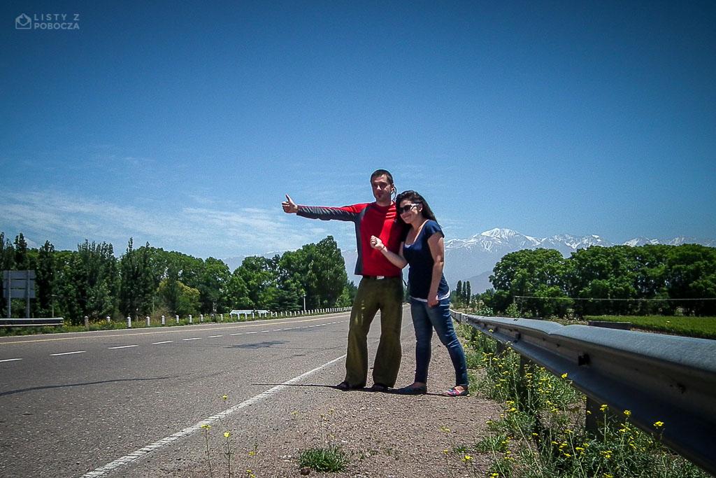 Paluch i Aileen autostopem z Argentyny do Chile