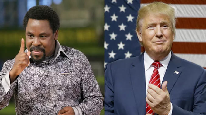 TB Joshua drops new prophecy on Donald Trump