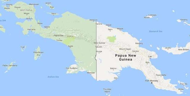 papua nomer 2 pulau terbesar di dunia dan nomer 1 pulau terbesar di Indonesia