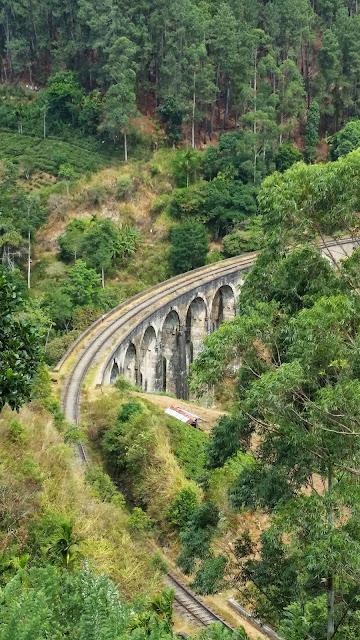 Puente de Ferrocarril cerca de Ella (Sri Lanka)