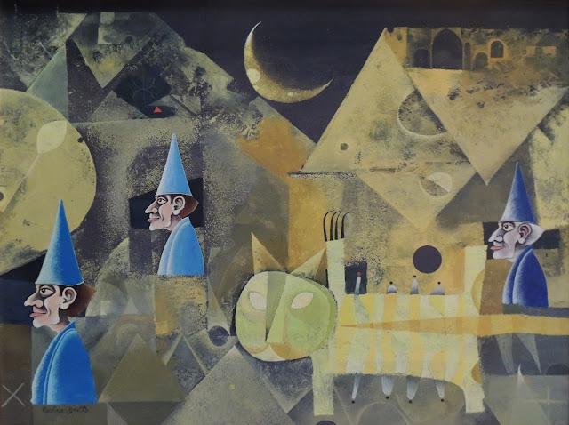 Rovira Brull pintura surrealista matagatos