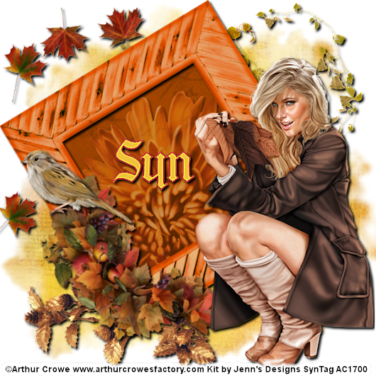 Syn's Designz: Jenn's Design's Autumn Day Kit!!!