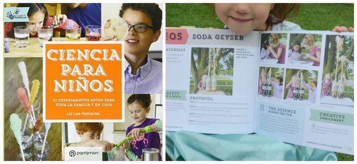 los mejores libros informativos para niños, libros conocimientos ciencia experimentos