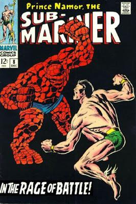 Sub-Mariner #8, the Thing